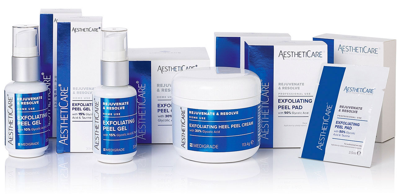 Aestheticare Rejuvenate and Resolve Glycolic Peels